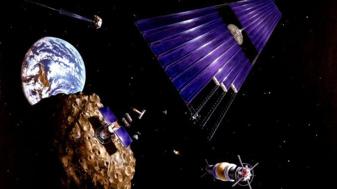 asteroidenbergbau