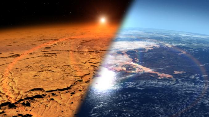 Mars-landscape-dry-wet