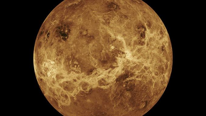 Venus ohne Wolken